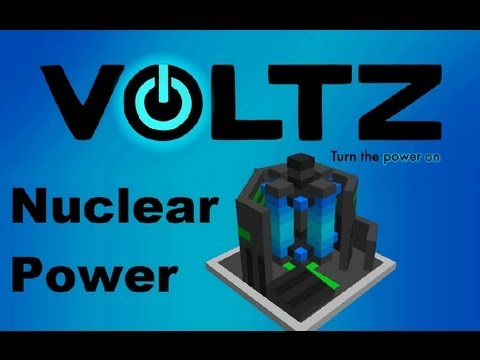 Voltz Pack: [Tutorial] Nuclear Power Fission Reactor