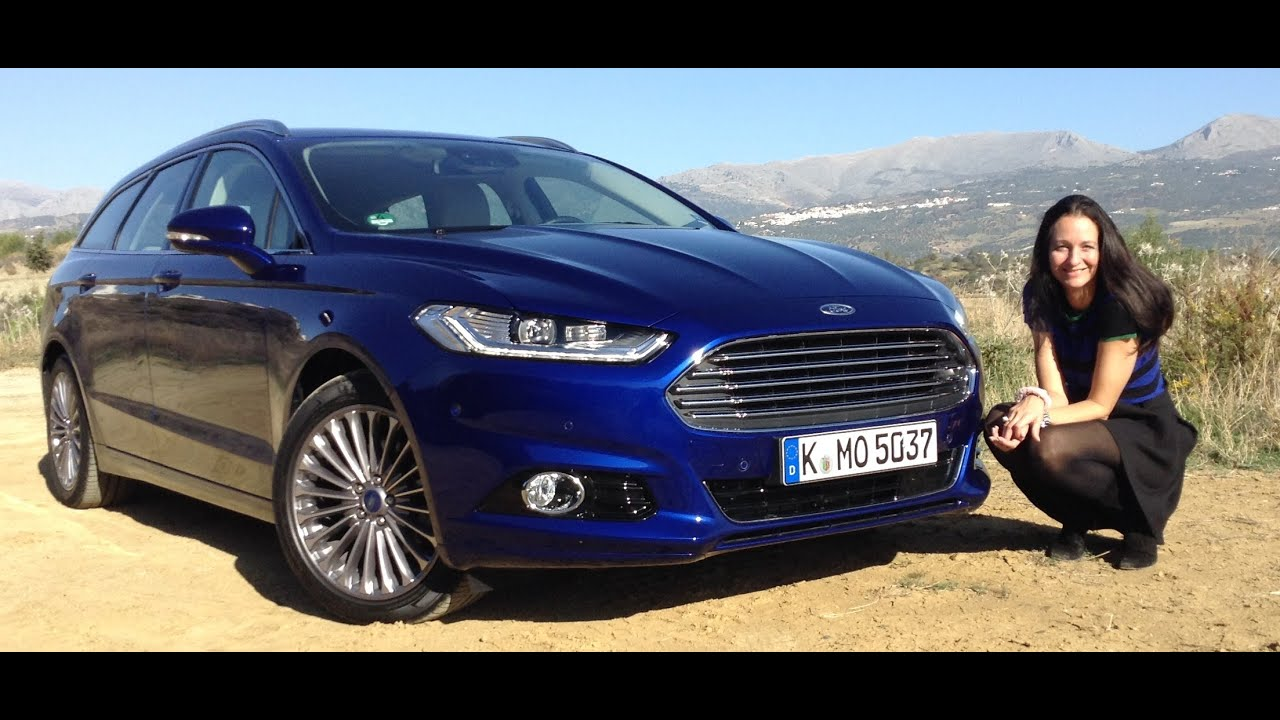 The All-New 2015 Ford Mondeo Test Drive - YouTube