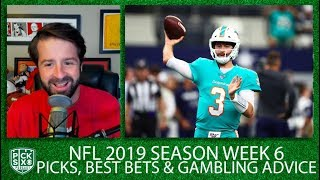 Week 6 Picks Against the Spread, Best Bets, Gambling Advice | Pick Six Podcast