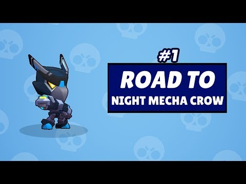 Road To Night Mecha Crow #1