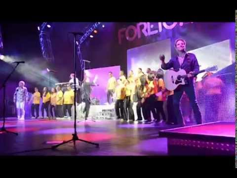 "Foreigner @ Jones Beach Uniondale High School  show choir ""Rhythm of the Knight"""