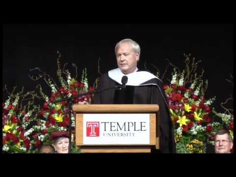 Chris Matthews  Five Points of Advice for Temple U graduates