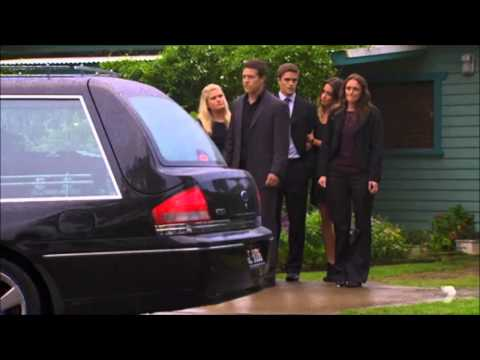Casey's Funeral Begins: Home and Away 22nd September 2014