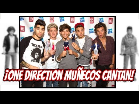 ¡One Direction Muñecos Cantan!