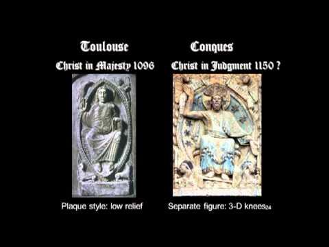 Romanesque Pilgrimage Churches: St. Foy, Conques, and Saint-Pierre, Moissac
