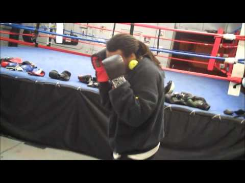 Boxing Defense Training Drill. Image 1