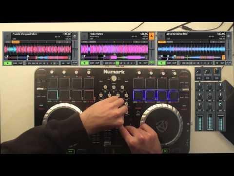 Electro-House Mix with Numark Mixtrack Quad
