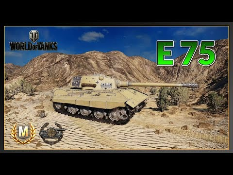 World of Tanks // E 75 // Ace Tanker // Sniper // Xbox One