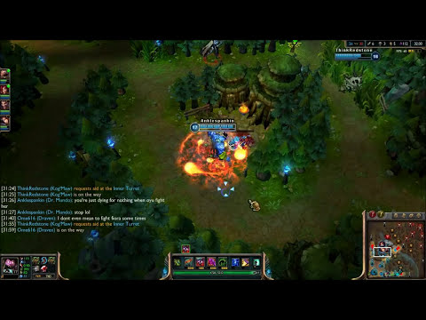 League of Legends - Warmogs Mundo - Full Game Commentary