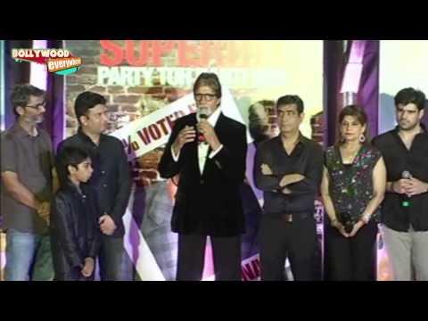 Amitabh Bachchan & Boman Irani