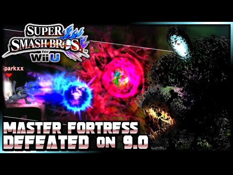 Master Fortress BEATEN on 9.0 Difficulty w/ Lucario (Super Smash Bros. for Wii U