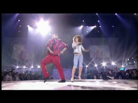 MTV CHRIS BROWN Thriller Tribute World Music Awards