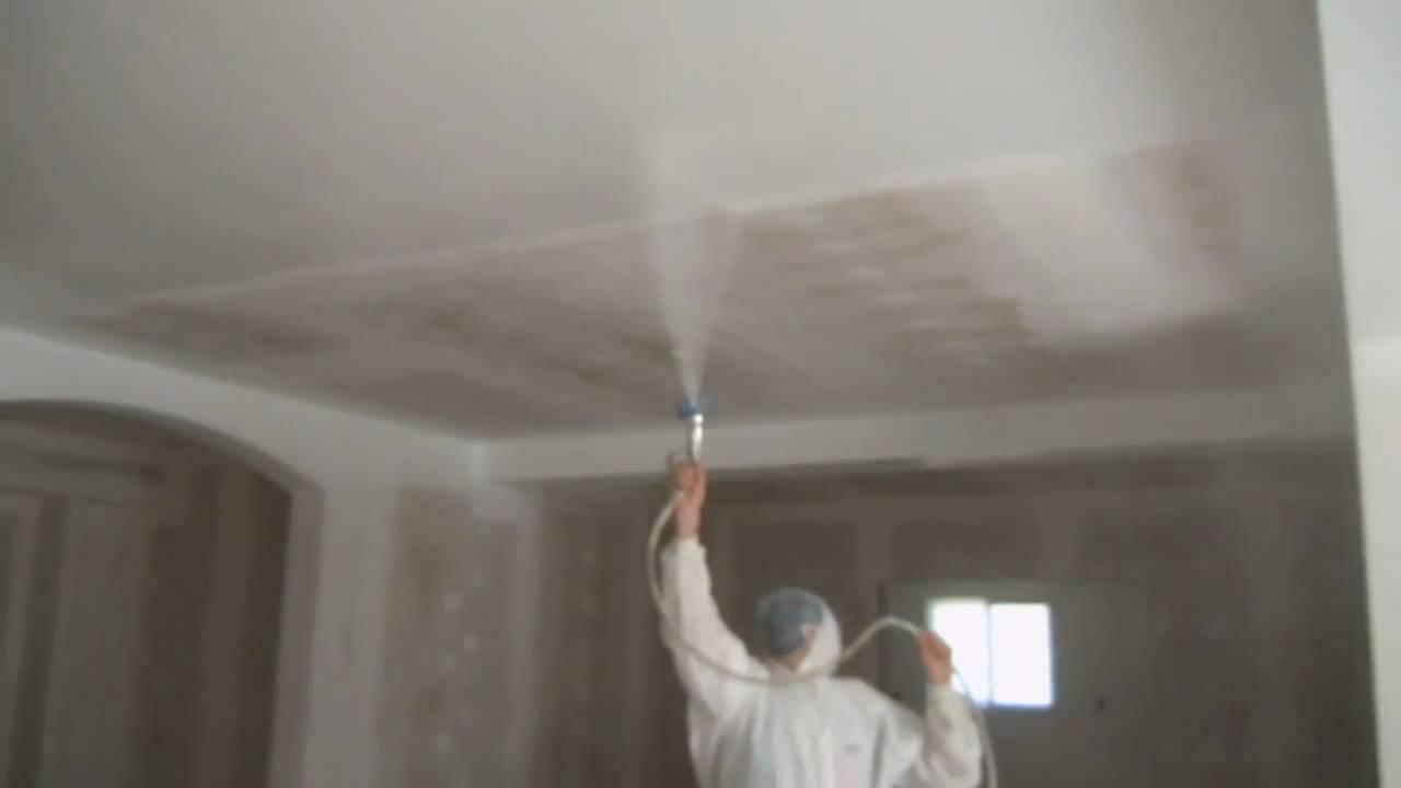 bati-deco.fr - application peinture acrylique par airless - YouTube