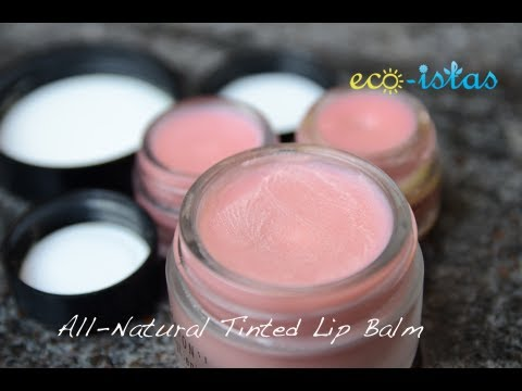 All-natural Tinted Lip Balm