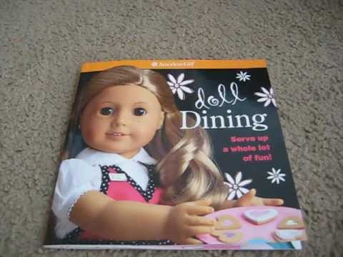 American Girl Doll Dining Contents