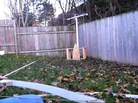 Selfmade / Homemade takedown recurve bows.AVI