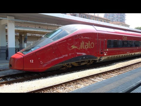 Treni in transito alta velocita 39 eurostar frecciarossa - Treno milano porta garibaldi bergamo ...