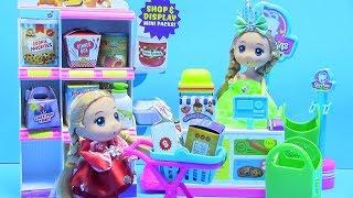 Mở Hộp Đồ Chơi Siêu Thị Shopkins Season 10 - Búp Bê Chibi Đi Siêu thị - Đồ Chơi Trẻ Em