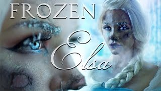 Frozen Frostbite Elsa Makeup Tutorial