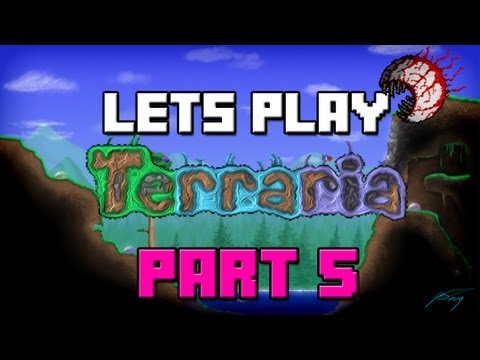 Lets Play Terraria 1.2 Update | Part 5 | Ice Skates (Terraria 1.2 Gameplay / Playthrough)