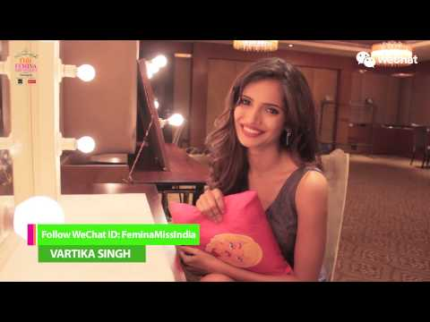 Femina Miss India - Vote For Vartika Singh