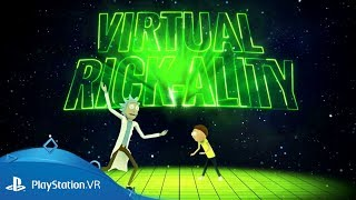 Rick and Morty: Virtual Rick-ality | Gameplay Trailer | PlayStation VR