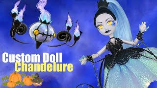 (17.1 MB) Custom Doll Repaint!  Halloween Pokemon Chandelure MH/EAH OOAK Mp3