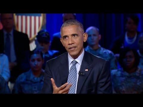 Obama discusses Kaepernick's anthem protest