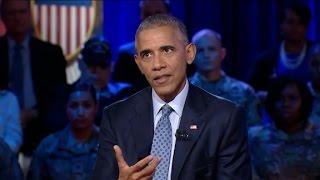 download lagu Obama Discusses Kaepernick's Anthem Protest gratis
