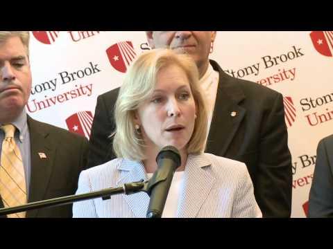 Sen. Kirsten Gillibrand Announces