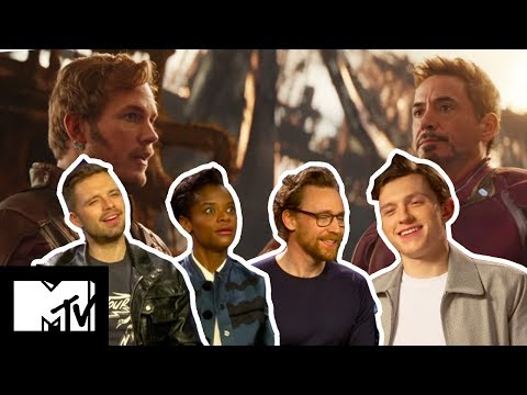 Avengers: Infinity War Cast Play WHO SAID IT?: AVENGERS EDITION! | MTV Movies