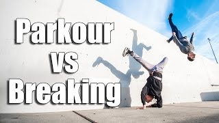 PARKOUR vs BREAK