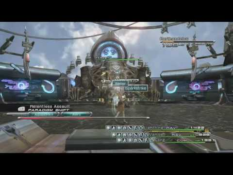 Final Fantasy XIII: Chapter Nine Boss Fight - Barthandelus