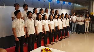 Beautiful Korea - JNU Student Choir - Korea corner 2018 in JNU [New Delhi]