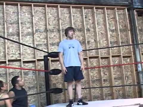 Bryan Danielson (Daniel Bryan) giving some fantastic advice at a wrestling training seminar. Image 1
