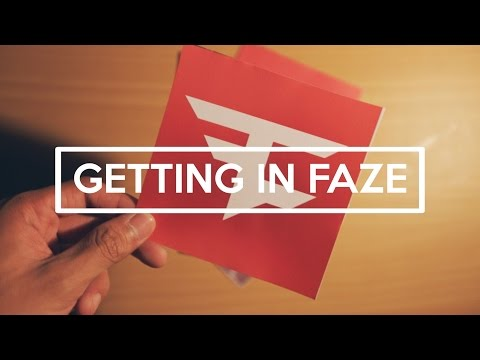 How I Got Into FaZe