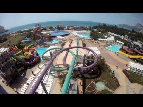 аквапарк в судаке капсула видео