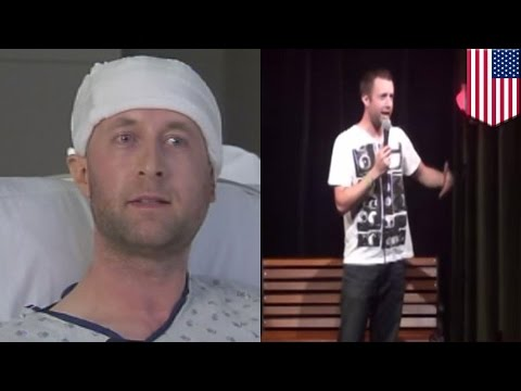 Comedian Attacked On Stage: Metal Baseball Bat-wielding Man Attacks Seattle Comic Dylan Avila video
