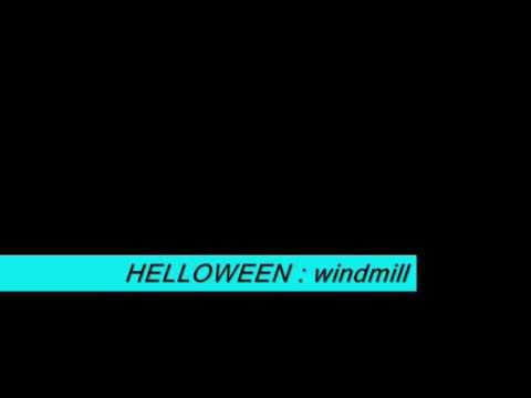 helloween - windmill with lyrics 3D