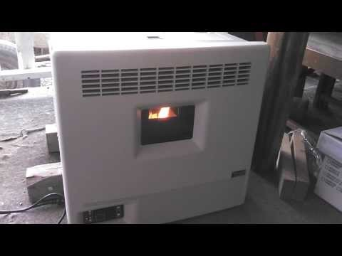 Eco-Aire 2400 Window mount pellet stove