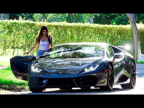 Picking Up Uber Riders In A Lamborghini!!