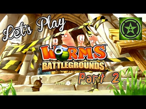 Let's Play - Worms Battlegrounds Part 2