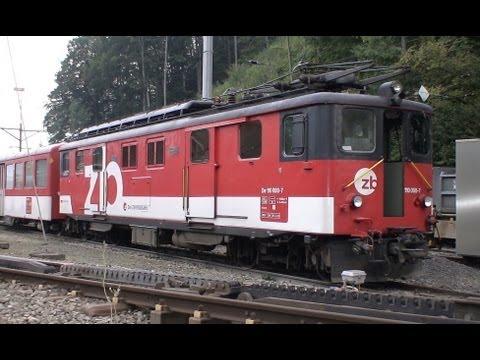 The Brunig line - Lucerne to Interlaken aboard the Golden Pass train.