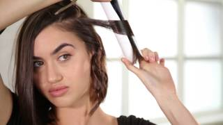 How To | The Wavy Chop: Easy Waves for Short Hair