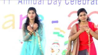 Yasoda school 11th Annual Day - Chinni Chinni aasalunna song  by Class - X Girls