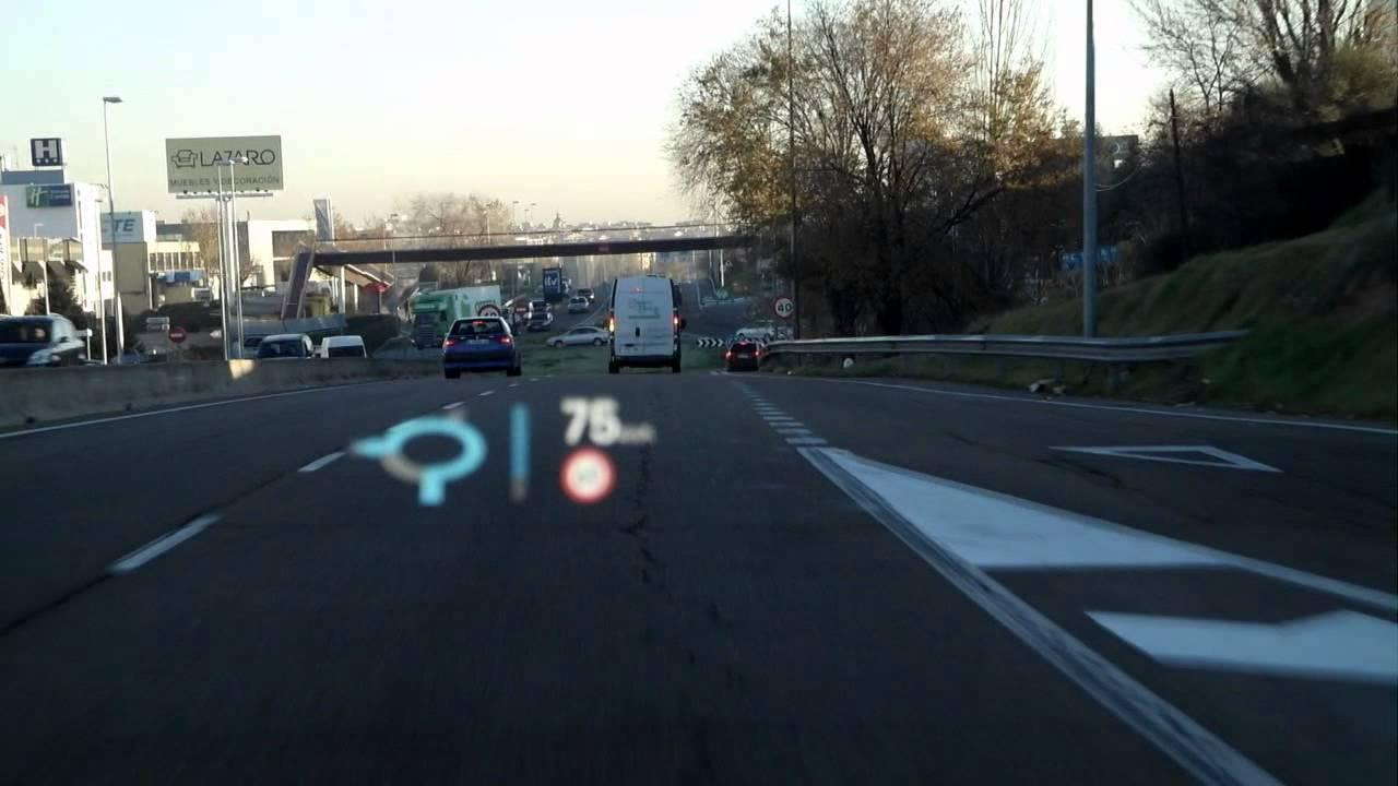 Audi S7 Sportback Head Up Display Youtube