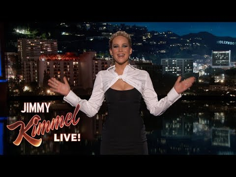 Jennifer Lawrence's Guest Host Monologue on Jimmy Kimmel Live