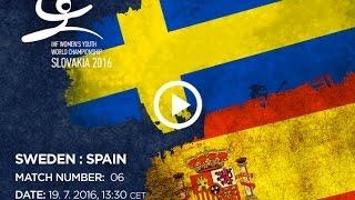Швеция до 18 : Испания до 18