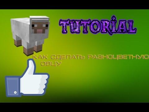 Как сделать разноцветную овцу в майнкрафт 18 - Njkmznnb.ru
