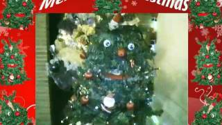 Merry Christmas!!! tree that sings ... Too cute ... to see!!